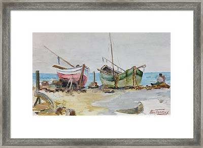 Almuerzo Framed Print by Stan Tenney