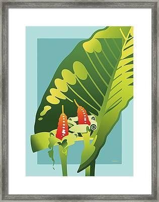 Alocasia Framed Print