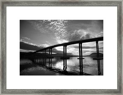 Aloft Framed Print by Lee Stickels