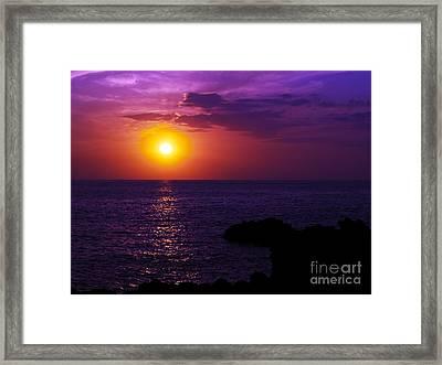 Aloha I Framed Print