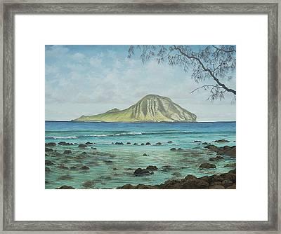 Aloha Kakahiaka Manana Framed Print by Wallace Kong