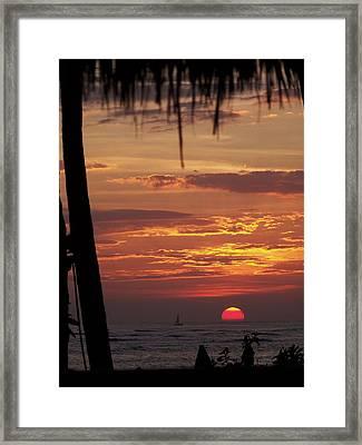 Aloha Framed Print by Karen Wiles