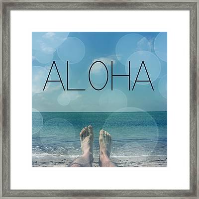 Aloha  Framed Print by Mark Ashkenazi