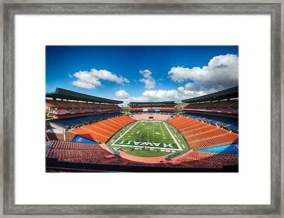 Aloha Stadium Framed Print