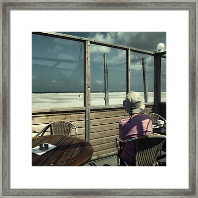 Alone Again Framed Print by Michel Verhoef