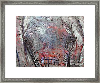 Alone Framed Print by Aimee Vance