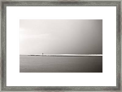 Alone Framed Print by Barbara Northrup