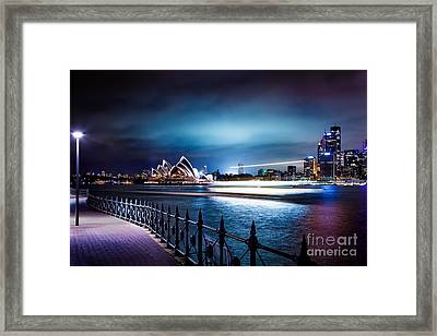 Alone By The Water Framed Print by Az Jackson