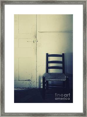 Alone In A Room Framed Print by Margie Hurwich