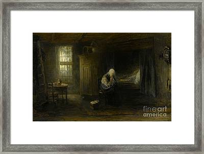 Alone In The World Framed Print by Celestial Images