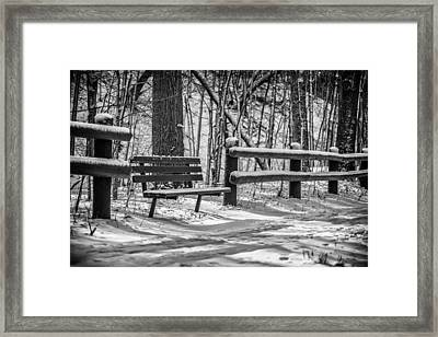 Alone In Your Thoughts Framed Print