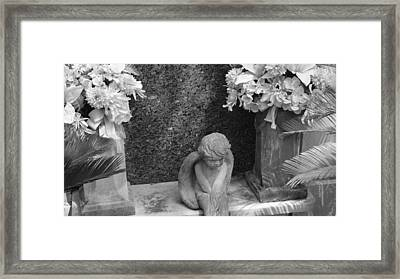 Alone Framed Print by Katie Spicuzza