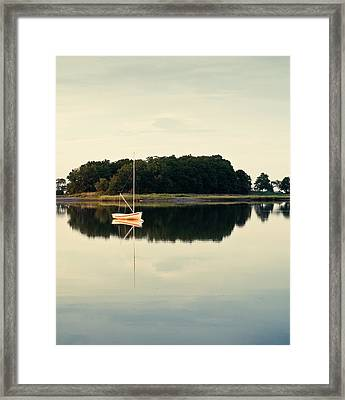 Alone Framed Print by Lee Costa