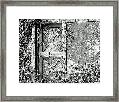 Abandoned And Alone Framed Print