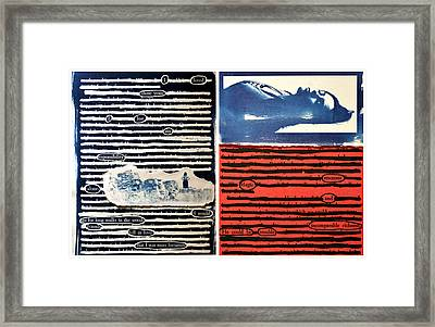 Alone/resonant Magic Framed Print by Lauren Johnson