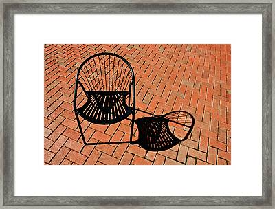 Alone Together Framed Print by Gary Slawsky