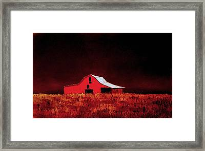 Framed Print featuring the painting Alone by William Renzulli