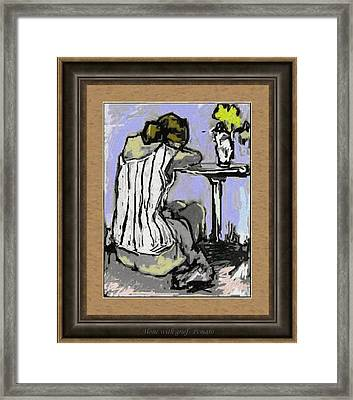 Alone With Grief Awg2 Framed Print