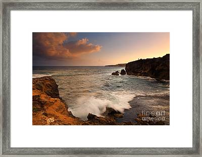 Alone With Paradise Framed Print