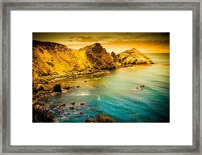 Along The 101 Framed Print