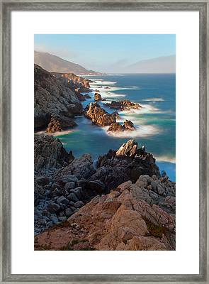 Along The Coastline Framed Print by Jonathan Nguyen
