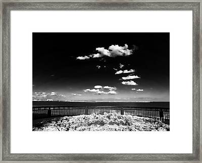 Along The Cooper River Framed Print by John Rizzuto