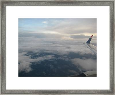 Along The Horizons Edge Framed Print