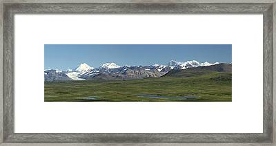 Along The Old Denali Highway Framed Print by Tracey Hunnewell