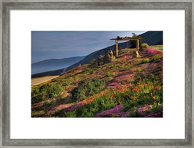 Along The Pacific Highway Framed Print