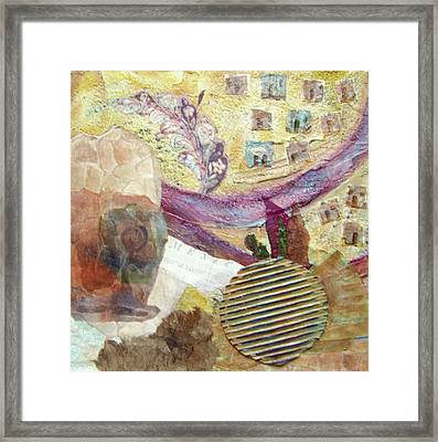 Along The Rio Grande Framed Print by MtnWoman Silver