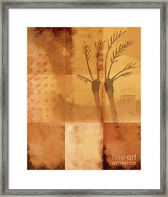 Along The River Nile Framed Print