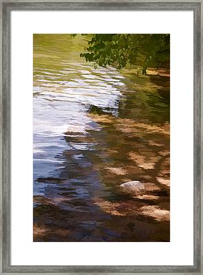 Along The Shore Framed Print