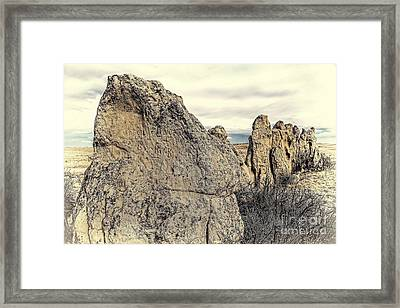 Along The Spine Framed Print by Jon Burch Photography
