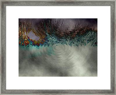 Along The Tracks Framed Print