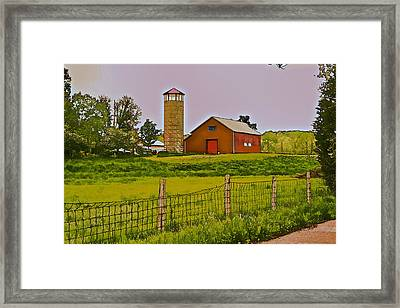 Along The Way Framed Print
