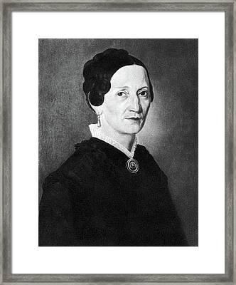 Aloysia Weber Lange (c1760-1839) Framed Print by Granger