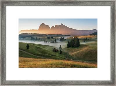 Alpe Di Siusi Framed Print