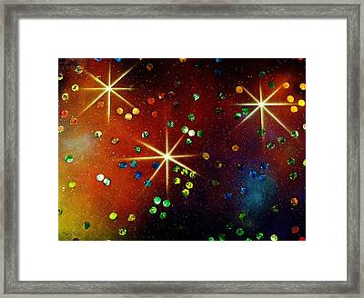 Alpha Centauri Framed Print by Michael Rucker