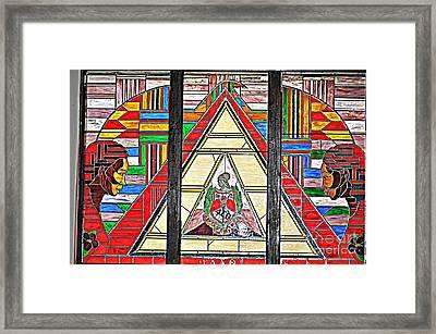 Alpha Kappa Alpha Framed Print