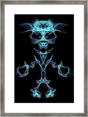 Alpha One Framed Print