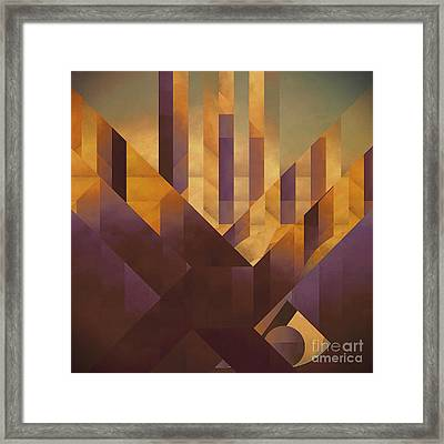 Alphanumeric Knowledge Framed Print by Lonnie Christopher