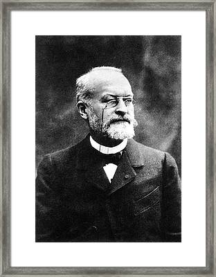 Alphonse Laveran Framed Print by National Library Of Medicine
