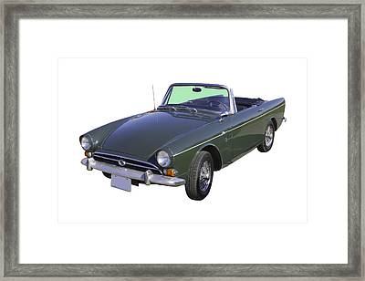 Alpine 5 Sports Car Framed Print by Keith Webber Jr