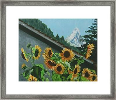 Alpine Delight Framed Print