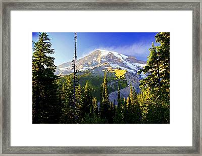 Alpine Glow 2 Framed Print by Marty Koch