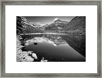 Alpine Reflections Framed Print