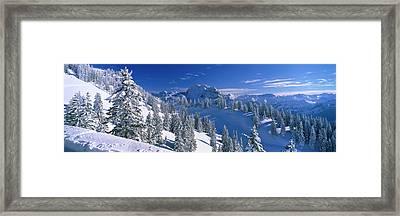 Alpine Scene, Bavaria, Germany Framed Print by Panoramic Images