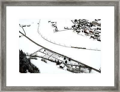 Alpine Train Framed Print by Stephen Richards