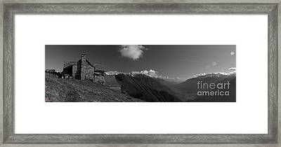 Alpine Valley Framed Print by Marco Affini