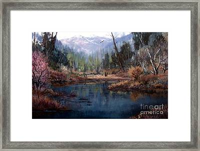 Alpine Wonder Framed Print by W  Scott Fenton